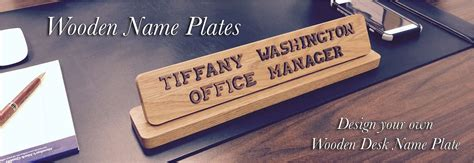desk name plate designs wood desk name plates best home design 2018