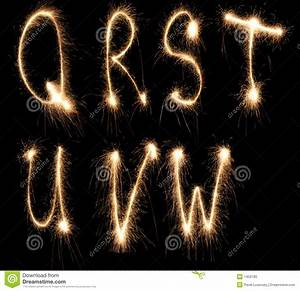 alphabet sparkler stock photo image 1459180 With letter sparklers