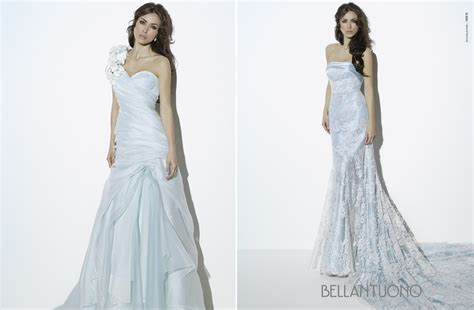 Light Blue Wedding Dresses For Romantic Brides
