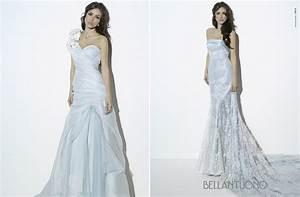 light blue wedding dresses for romantic brides onewedcom With light blue wedding dresses