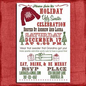 ugly christmas sweater party invitations template best With ugly sweater christmas party invitations template