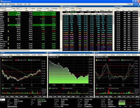 quotestream  market data desktop  mobile