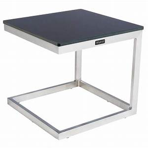 Table D Appoint Haute : table d 39 appoint d 39 ext rieur ambrosio anthracite hesp ride ~ Nature-et-papiers.com Idées de Décoration