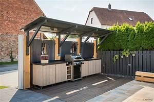 Outdoor Küche überdacht : drau en zu hause individuelle freiluftk chen topateam schreiner tischler netzwerk ~ Orissabook.com Haus und Dekorationen