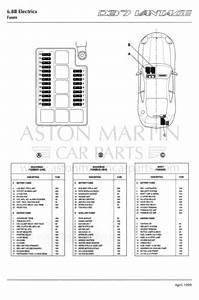 Fuses For Aston Martin Db7 Vantage