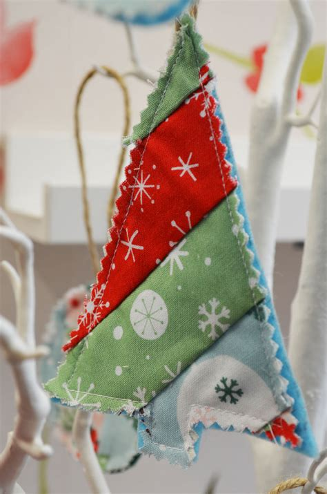 patchwork christmas decorations the craft studio