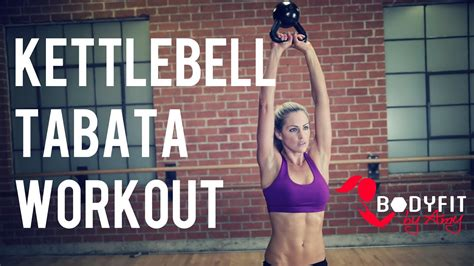 tabata kettlebell workout fat minute burning cardio body training hiit exercise workouts bodyfit weight exercises min strength