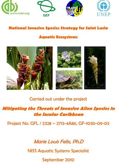 Saint Lucia Niss Aquatic Ecosystems Ciasnetorg