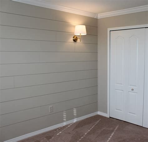 Where Do I Find Shiplap by Sherwin Williams Accessible Beige Diy Shiplap Nursery Wall
