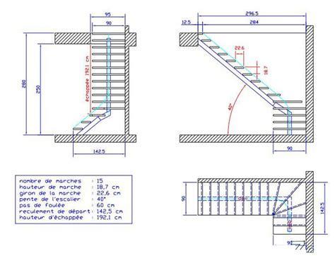 reculement d un escalier fabrication d un escalier page 2 copain des copeaux