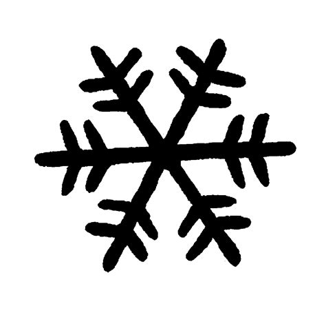Transparent Background Snowflake Silhouette Snowflake Clip silhouette clipart snowflake clipground