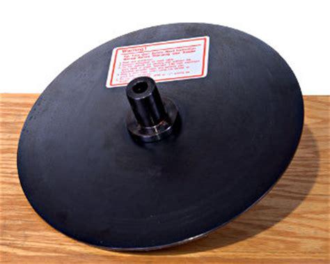 shopsmith  steel sanding disc