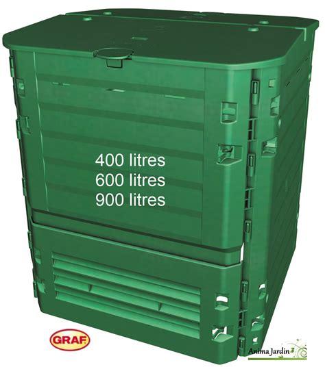 poubelle haute cuisine composteur thermo king vert 400 600 et 900 litres