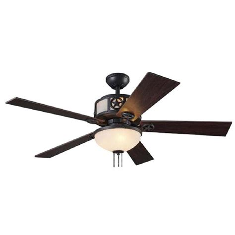 matte black ceiling fan with light shop harbor breeze thoroughbred 52 in matte black downrod