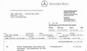 Rechnung Anwalt : freigabe gasumbau mercedes benz cls 500 ~ Themetempest.com Abrechnung