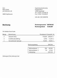 Rechnung Malerarbeiten Muster : file rechnung kurz muster wikimedia commons ~ Themetempest.com Abrechnung