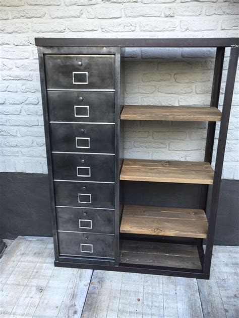 meuble rangement metallique