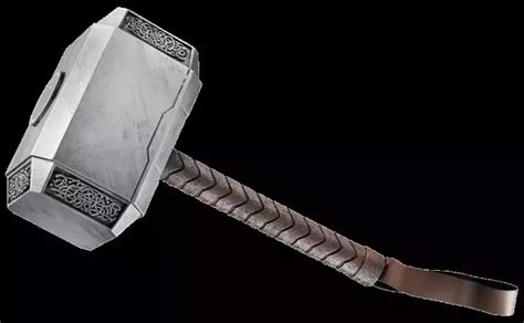 what material is thor 39 s hammer made up of quora