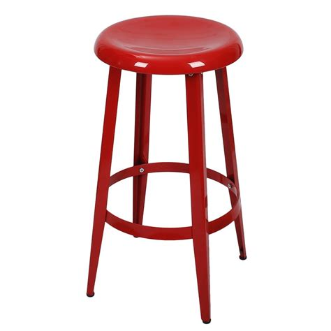 egg shape chairs joveco metal top backless 26 inch stool