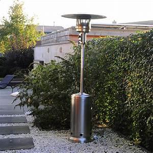 Chauffage Exterieur Gaz : chauffage d 39 ext rieur gaz acier inox jardinchic ~ Dode.kayakingforconservation.com Idées de Décoration