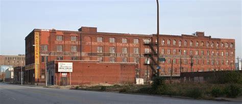 built st louis  industrial city riverfront north