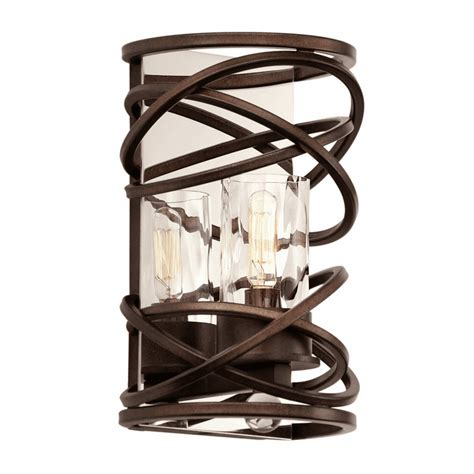 eternity 1 light wall sconce