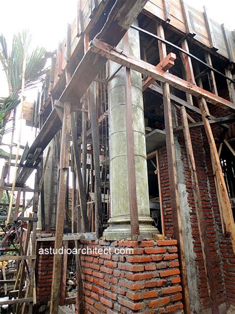 proses pengecoran dak beton  proses pembangunan rumah