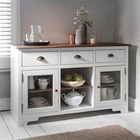 small bathroom storage ideas canterbury sideboard in white and pine noa nani