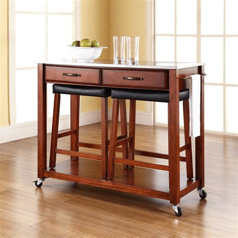 kitchen island chairs or stools kitchen island cart with stools