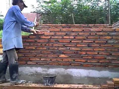 Solusi Rumah Dari Holcim Cara Konsoltan Menunjukkan Cara Lebal Susun Bata Dinding Rbw