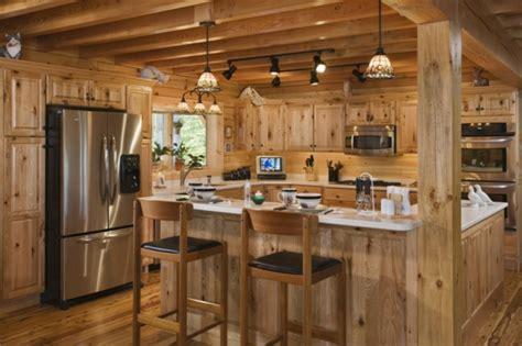 cuisine bois nature et d馗ouverte la menuiserie intérieure et les chalets du monde archzine fr