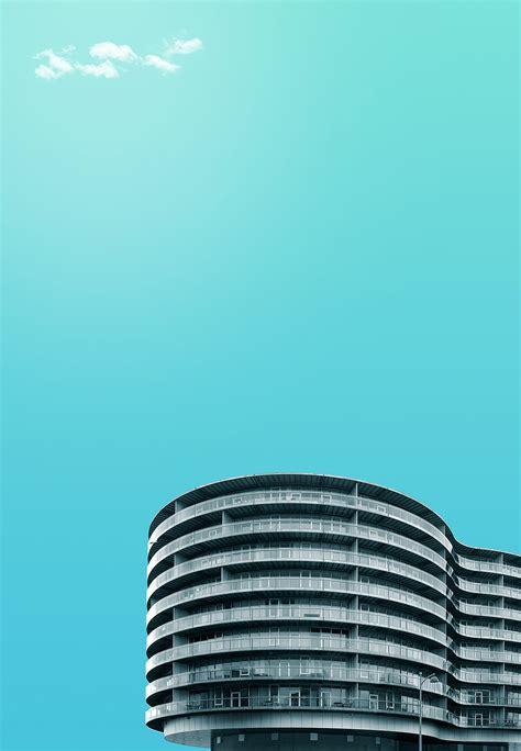 art director creates beautiful minimalist images  architecture