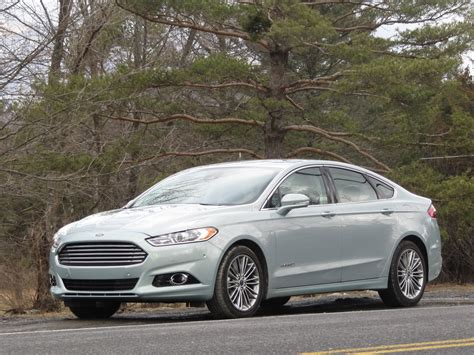ford fusion hybrid quick winter gas mileage test