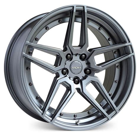 roh ro1 wheels gunmetal bolts rims wheel australia street