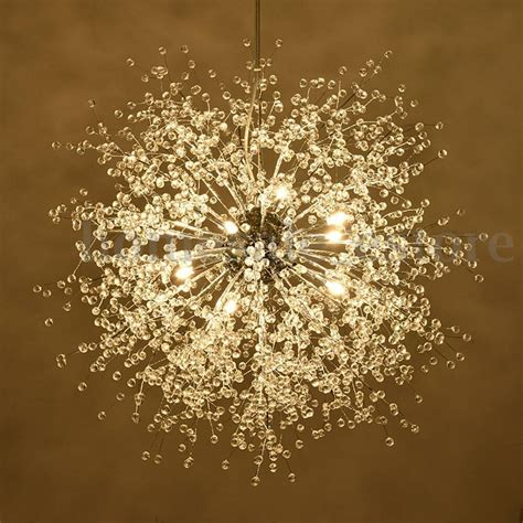 Led Light For Chandelier by Modern Dandelion Led Chandelier Fireworks Pendant L