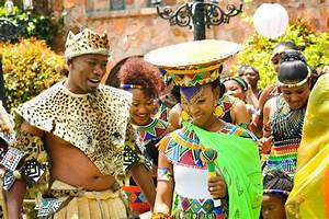 South Africa Weddings: Zulu Tribe.