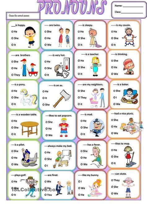 pronoun personal pronouns english pronouns english