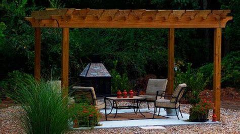 easy   diy outdoor pergolas shelterness