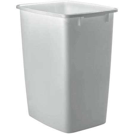 Trash Can 9 Inches Wide by Rubbermaid 36 Qt 9 Gal Plastic Wastebasket Walmart