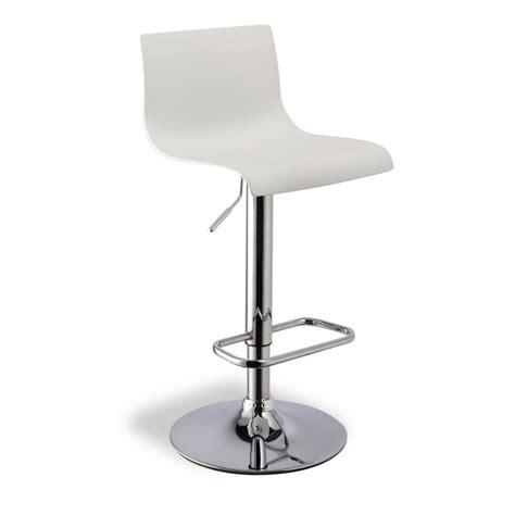 chaise de bar reglable tabourets bar avec dossier