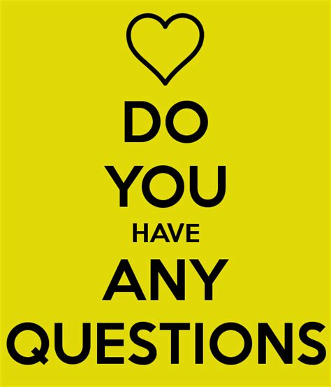 Do You Have Any Questions Poster  Britnney With A Y
