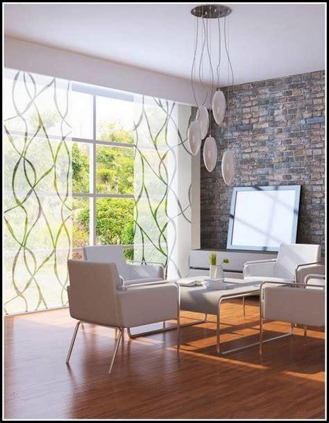 wohnzimmer gardinen idee