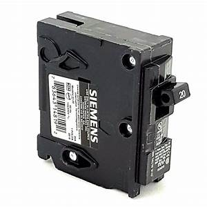 New Siemens Circuit Breaker Qp Q120 20a 20 Amp 1p 1 Pole