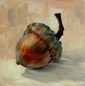 Acorn Painting