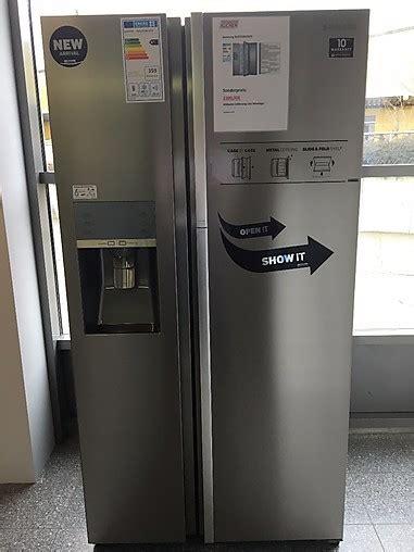 Samsung Kühlschrank Edelstahl by K 252 Hlschrank Rh57h90707f Side By Side K 252 Hlschrank Edelstahl