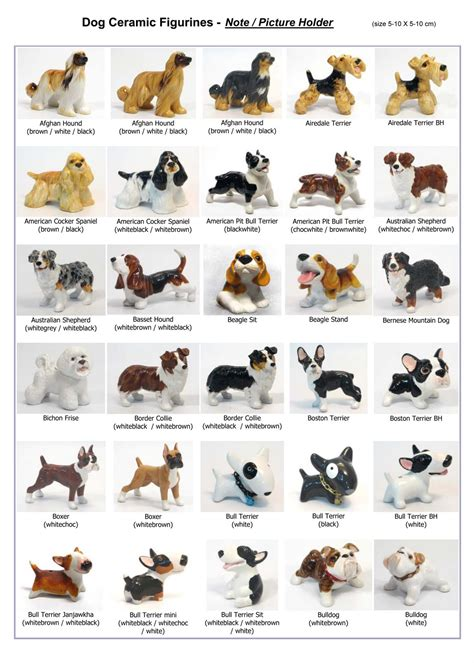 List All Dog Breeds