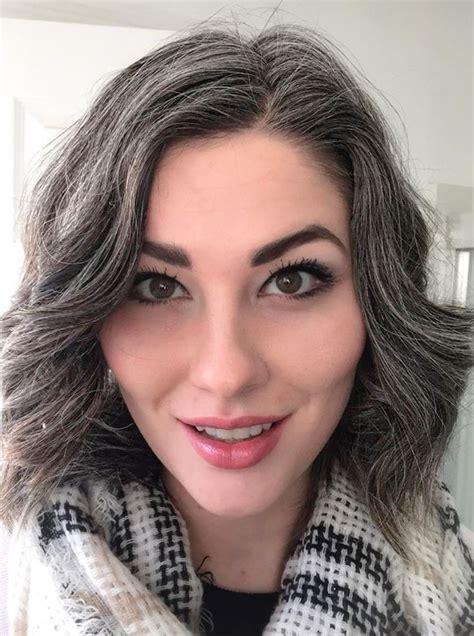 216 Best Graygrey Hair Images On Pinterest Grey Hair