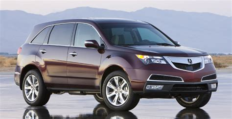 acura jeep 2010 acura s mdx suv gets a new look and powertrain for 2010