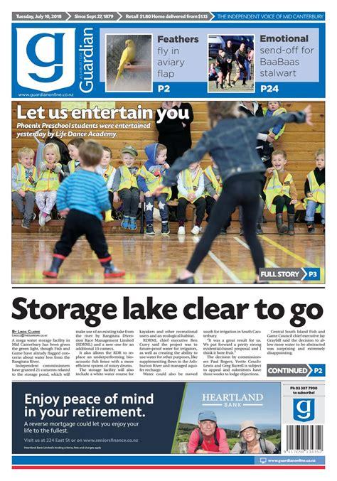 ashburton guardian tuesday july 10 2018 by ashburton 212 | page 1