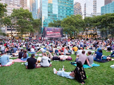 New York's Best Outdoor Movie Screenings This Summer